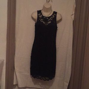Little black lace dress by Ambience